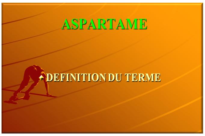 ASPARTAME 18
