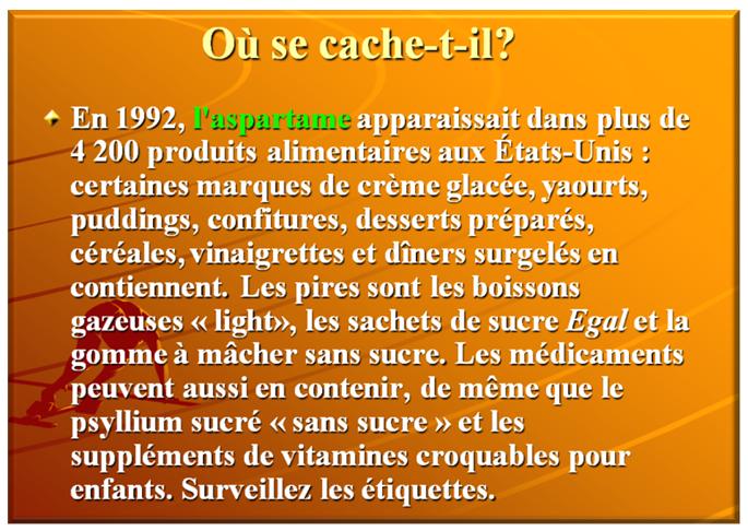 ASPARTAME 29